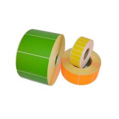 Etykiety samoprzylepne kolorowe
