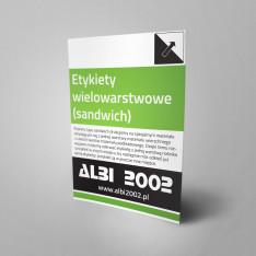Etykiety wielowarstwowe (sandwich)